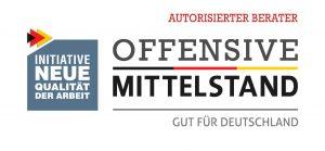 Dirk Bamberger Autorisierter Berater Offensive Mittelstand - Logo